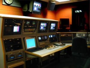 production booth