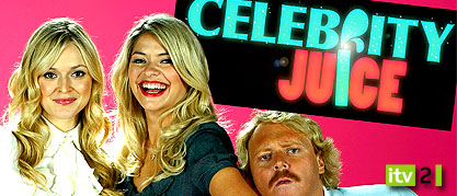 celebrity juice keith lemon fearne cotton holly willoughby ITV2